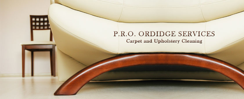 P.R.O. ORDIDGE SERVICES Upholstery Cleaning